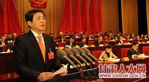 省十二届人大三次会议开幕 省长刘伟平作政府工作报告