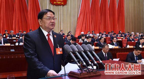 1月11日上午,省十二届人大六次会议举行第二次全体会议,梁明远作省高级人民法院工作报告