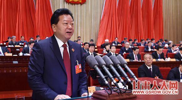1月11日上午,省十二届人大六次会议举行第二次全体会议,路志强作省人民检察院工作报告