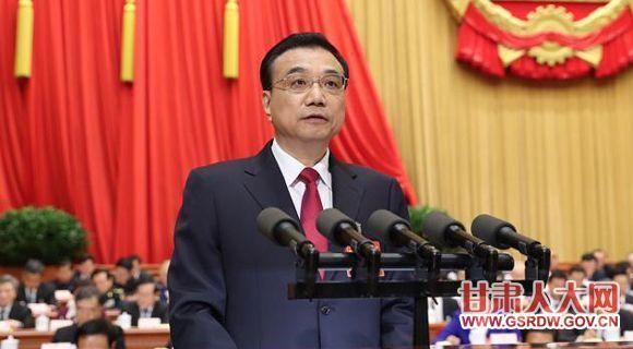 3月5日,第十二届全国人民代表大会第五次会议在北京人民大会堂开幕,李克强作政府工作报告