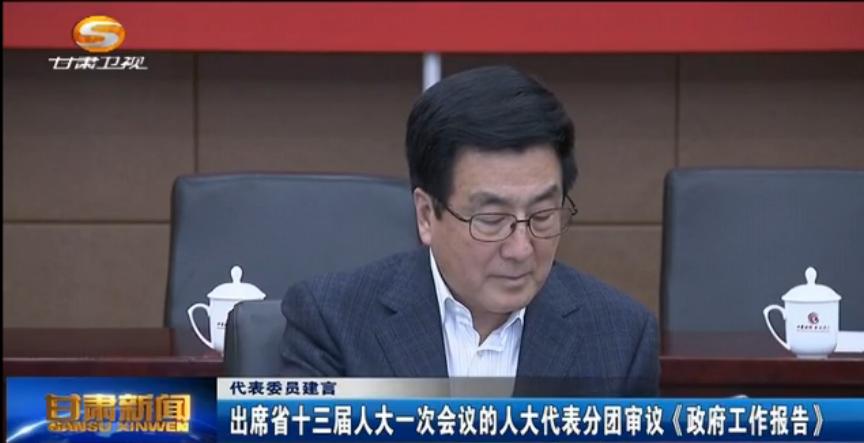 代表委员建言:出席省十三届人大一次会议的人大代表分团审议《政府工作报告》