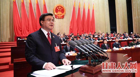 1月26日上午,省十三届人大一次会议举行第二次全体会议,朱玉作省高级人民检察院工作报告