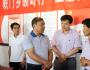 7月1日至2日,甘肃省人大常委会副主任马青林在平凉调研实施乡村振兴战略工作。图为马青林一行在天源农业循环经济示范园现场察看相关情况