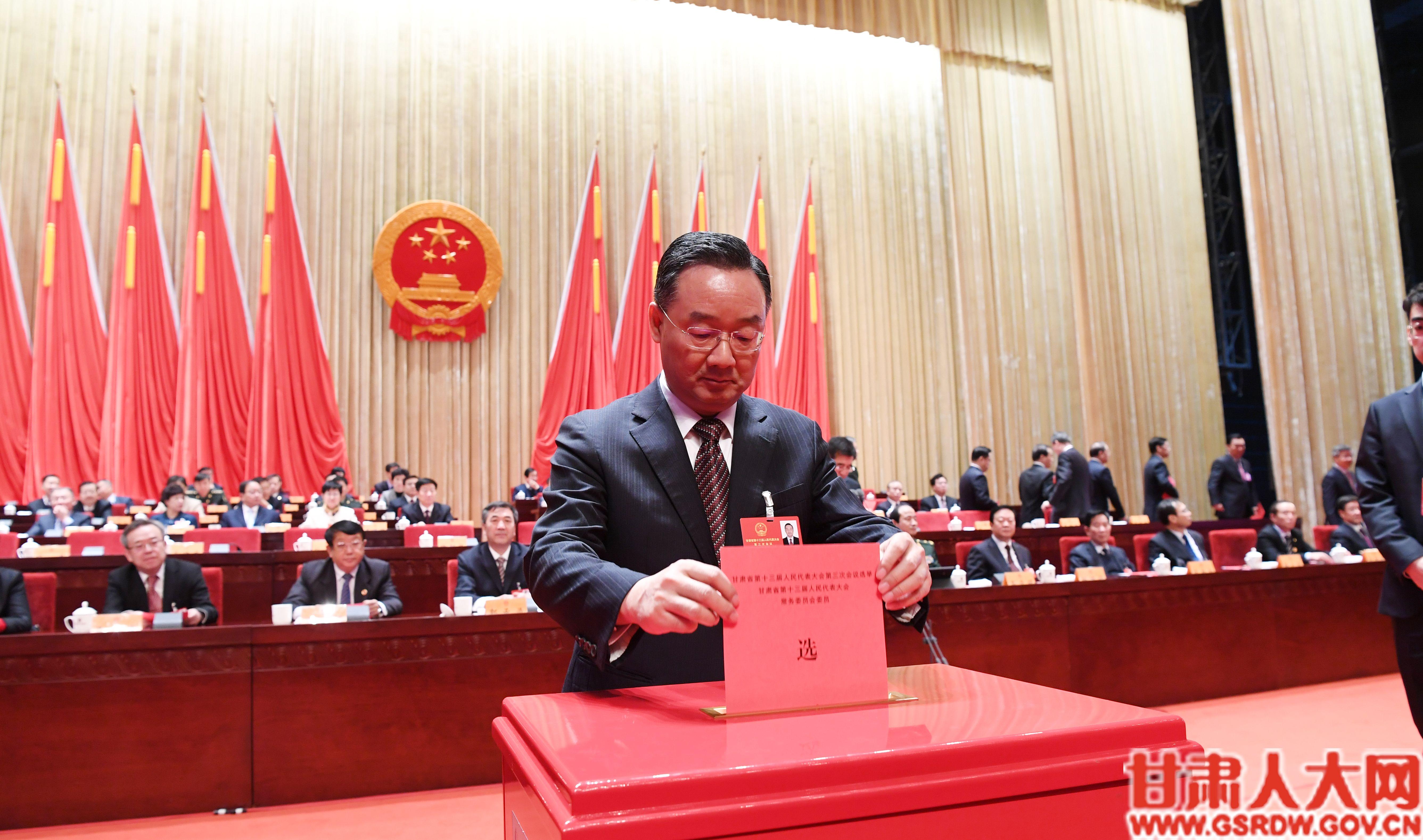唐仁健代表投票