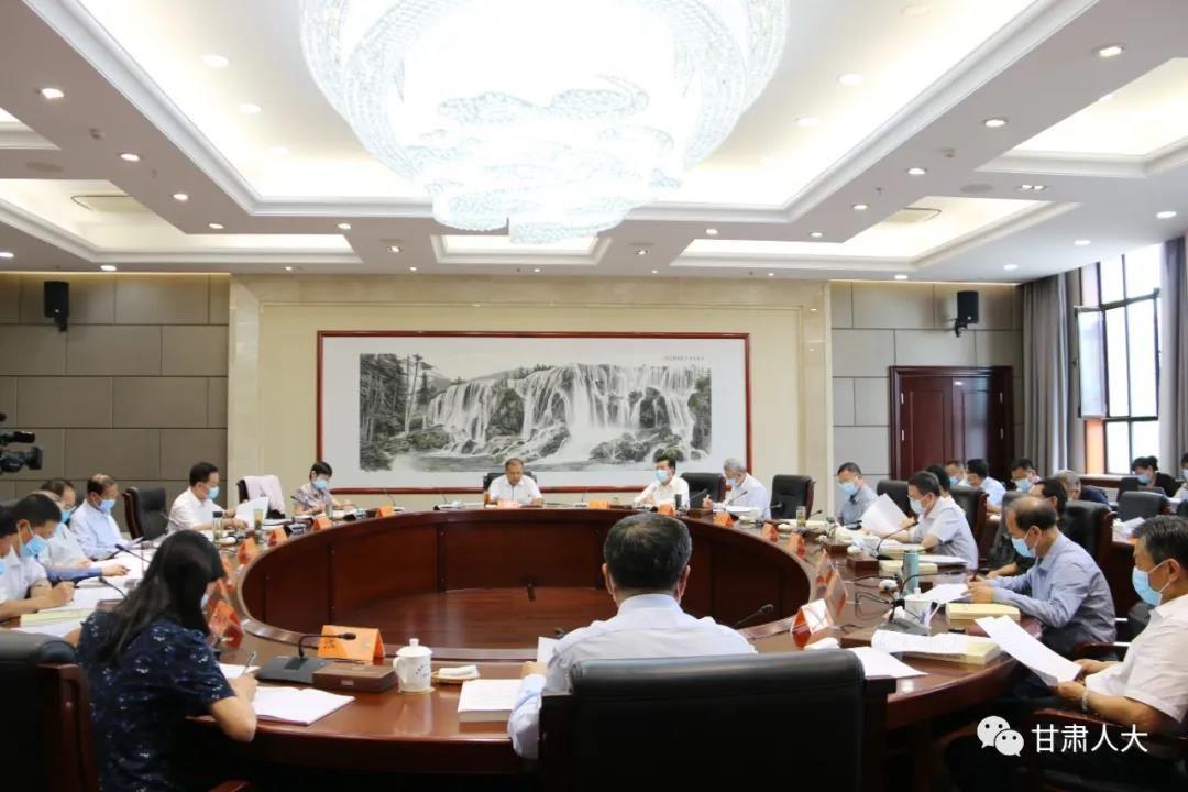 9月13日,省人大常委会召开党组(扩大)会议暨理论学习中心组学习会议